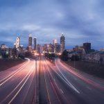 Atlanta, GA at night